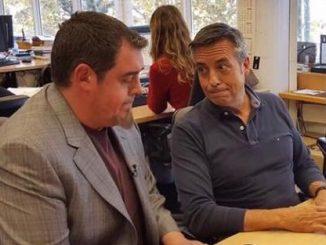 Ferran Aixalà i Ramon Pellicer a TV3