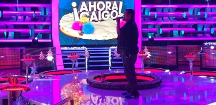 Ferran Aixalà al programa Ahora Caigo